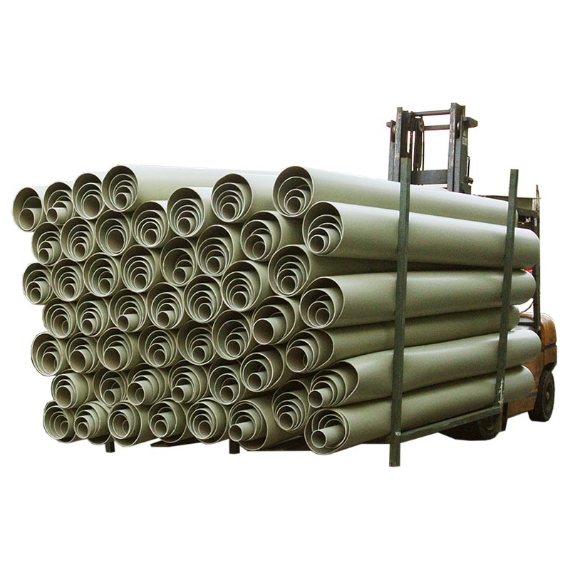 Acid and Alkali Resistant Air Duct Plastic Pipes Resistance Plastic Pipe