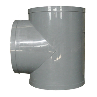 All Size Available Plastic Pipe Reduced Tee Plastic Pipe Connector PP Pipe Fitting PP Equal Tee
