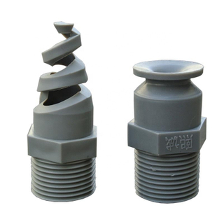 High efficiency plastic spray nozzle , plastic mist spray nozzle