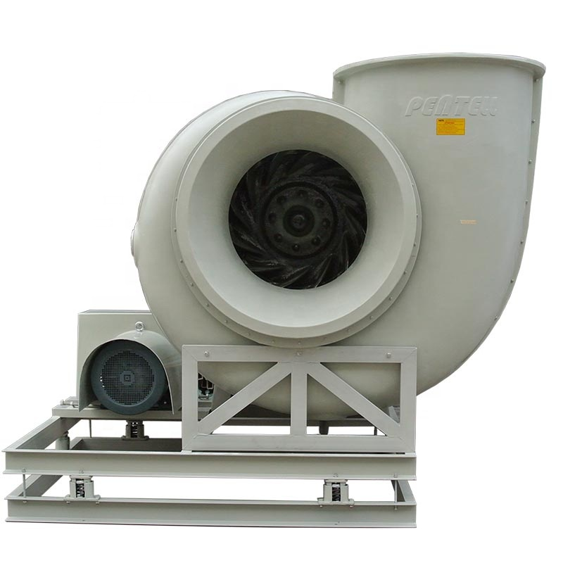 Packed Bed Chemical Scrubber +activated carbon adsorption box+ Centrifugal fan, acid mist remove srpay tower