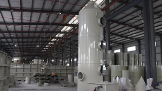 Industrial Waste Gas Treatment Equipment Wet Scrubber