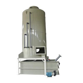 Customized Size Packing Tower Wet Scrubber Gas Scrubber Gas Treatment System For Freign Market