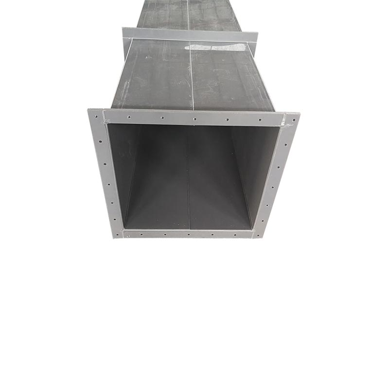 Factory price Ventilating Square Duct/ big ventilation PVC square pipe