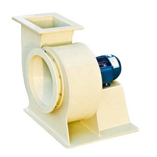 PP plastic centrifugal fan/Small pp centrifugal blower