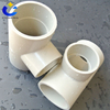 PVC/PP large pipe fittings/sweep tee dn 15~dn1500mm