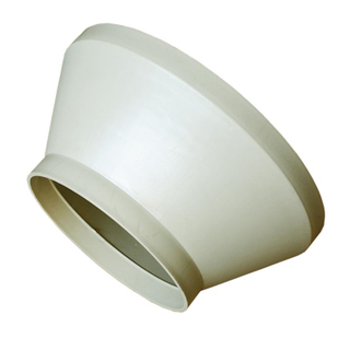 Pipe Fittings Concentric Reducer with Beige & Gray/ Beige color in Industry