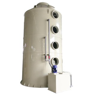 High efficiency Chemical Exhaust Absorption System Wet Scrubber for acid and alkali waste gas washing tower