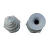 High Efficiency Plastic PP Spiral Cone Atomized Nozzle for Gas Cooling, Washing