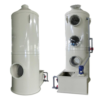 Industrial Harmful Gas Removing Air Pollution Control Devices Gas Scrubber
