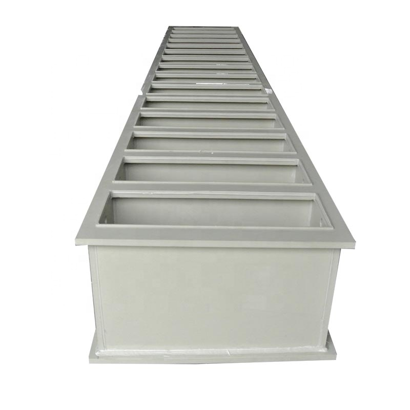 Customized Polypropylene Plastic Plating Tank for Water Storage Or Chemical Liquid
