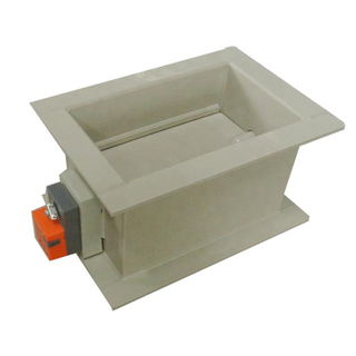Rectangular Motorized Volume Control Damper for Air Conditioning