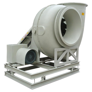 Industrial Exhaust Gas Centrifugal Blower Fan with FRP Material